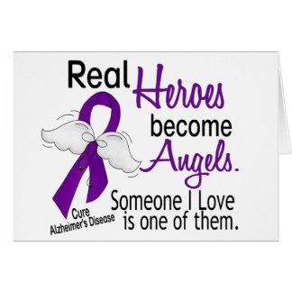 Los héroes hacen enfermedad de Alzheimer de los án Tarjeta De Felicitación