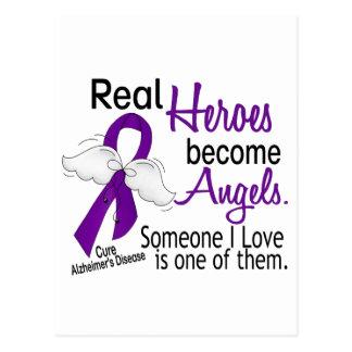 Los héroes hacen enfermedad de Alzheimer de los án Postales