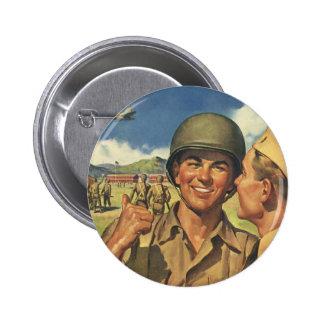 Los héroes patrióticos del vintage personal milit pins