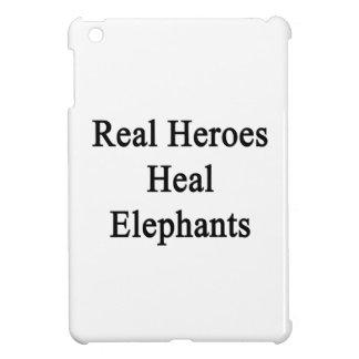 Los héroes reales curan elefantes
