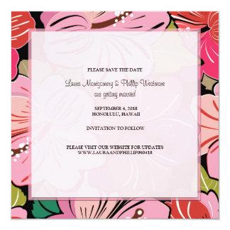 Los hibiscos encuentran reserva la invitación de