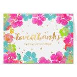 Los hibiscos Leis de la hawaiana de PixDezines/le Tarjeta De Felicitación