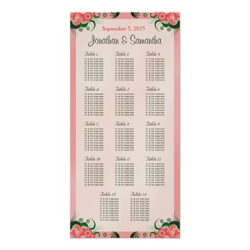 Los hibiscos pican 14 tablas que se casan que póster
