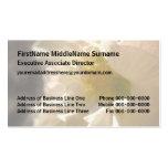 Los hibiscos pican en sepia plantilla de tarjeta personal