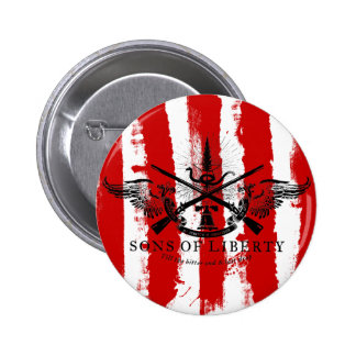 Los hijos del rebelde de la libertad rayan el botó pin redondo de 2 pulgadas