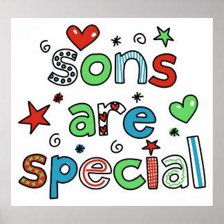 Los hijos son especiales póster