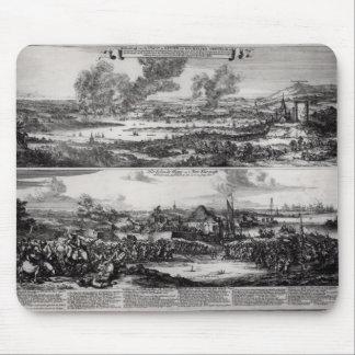 Los holandeses atacan en el río Medway Alfombrilla De Raton