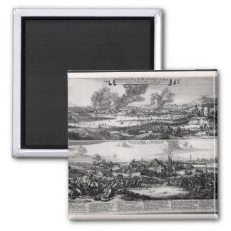 Los holandeses atacan en el río Medway Imán Cuadrado