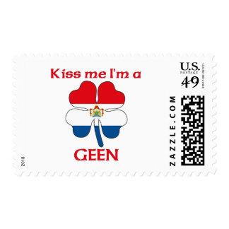 Los holandeses personalizados me besan que soy Gee