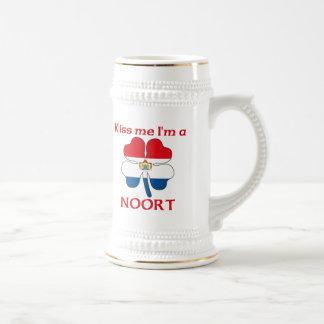 Los holandeses personalizados me besan que soy Noo Tazas De Café