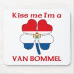 Los holandeses personalizados me besan que soy Van Alfombrilla De Raton