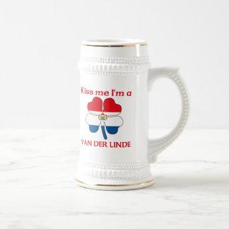 Los holandeses personalizados me besan que soy Van Jarra De Cerveza