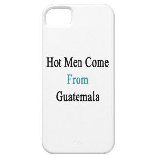Los hombres calientes vienen de Guatemala iPhone 5 Case-Mate Protectores
