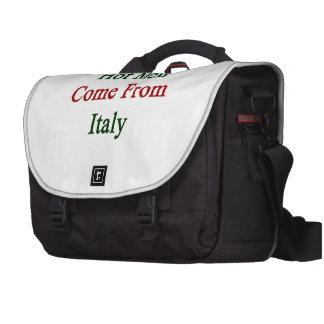 Los hombres calientes vienen de Italia Bolsa Para Ordenador