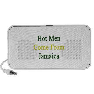Los hombres calientes vienen de Jamaica Altavoces De Viaje
