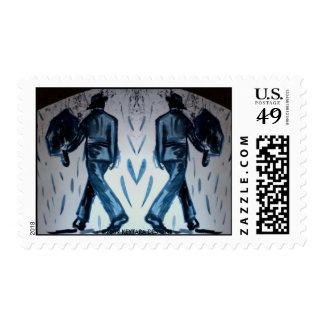 Los hombres con los paraguas 8517, ©2009 KEYTARA Franqueo