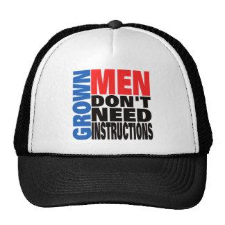 Los hombres crecidos no necesitan el gorra de las