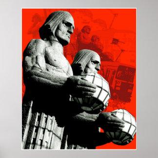 Los hombres de piedra de Helsinki Impresiones