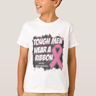 Los hombres duros del cáncer de pecho llevan una poleras
