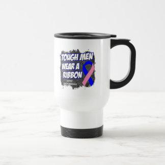 Los hombres duros masculinos del cáncer de pecho l tazas de café