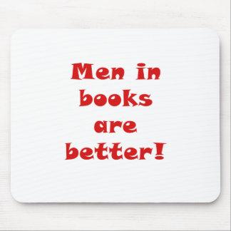 Los hombres en libros son mejores alfombrilla de ratón