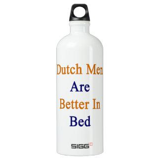 Los hombres holandeses son mejores en cama