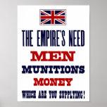 Los hombres, las municiones y el dinero del ~ de l impresiones