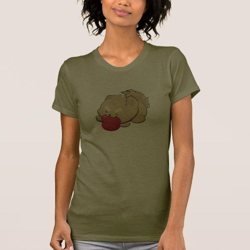 Los hombres lobos comen manzanas camiseta