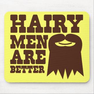 ¡Los hombres melenudos son MEJORES! con una perill Alfombrilla De Ratón