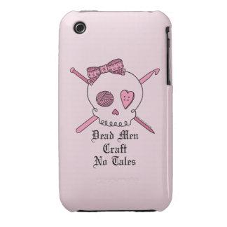 Los hombres muertos no hacen ningún cuento a mano Case-Mate iPhone 3 protectores