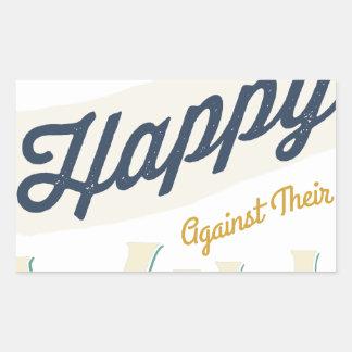 Los hombres no pueden ser hechos felices contra su rectangular altavoces