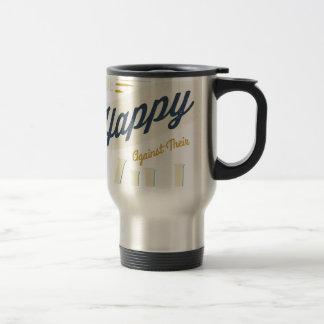 Los hombres no pueden ser hechos felices contra su tazas de café