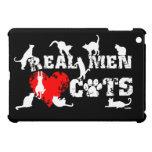 Los hombres reales aman los gatos, gatos tienen 9  iPad mini carcasas