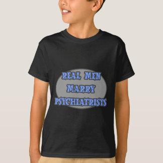Los hombres reales casan a psiquiatras playera
