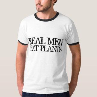 Los hombres reales comen las plantas remeras