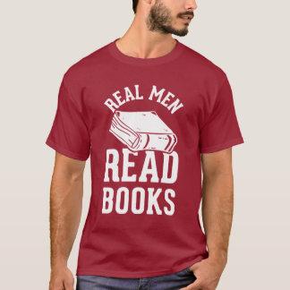 Los hombres reales leyeron los libros playera