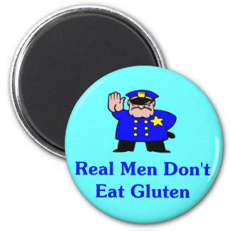 Los hombres reales no comen el gluten imanes