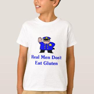 Los hombres reales no comen el gluten playeras
