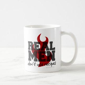 Los hombres reales no utilizan recetas taza