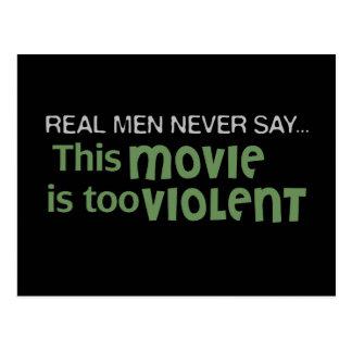 Los hombres reales nunca dicen - esta película es tarjetas postales