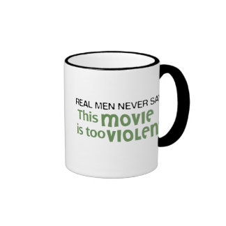 Los hombres reales nunca dicen - esta película es taza de dos colores