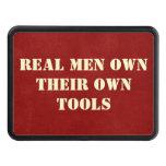 Los hombres reales poseen su propia cubierta del r tapa de tráiler