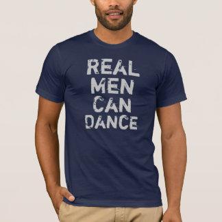 Los hombres reales pueden bailar playera