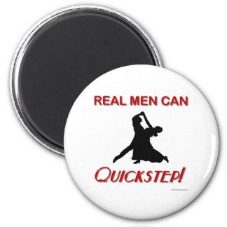 Los hombres reales pueden Quickstep Imán Redondo 5 Cm
