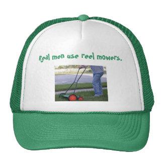 """Los """"hombres reales utilizan gorra de los cortacés"""