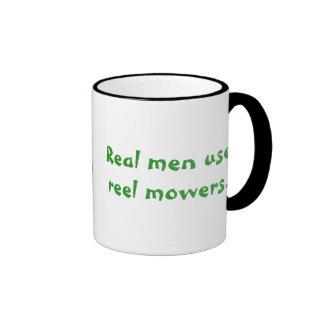 """Los """"hombres reales utilizan taza de los cortacésp"""