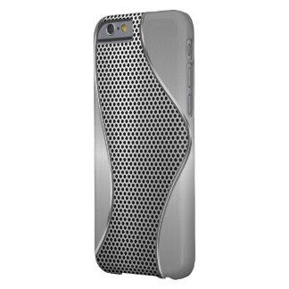 Los hombres refrescan mirada metálica funda de iPhone 6 barely there