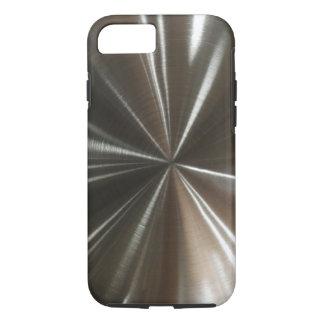 Los hombres refrescan mirada metálica funda iPhone 7