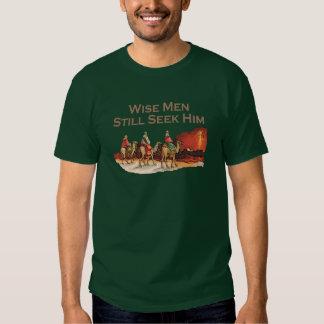 Los hombres sabios todavía lo buscan, navidad camisas