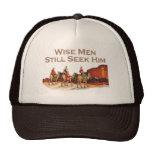 Los hombres sabios todavía lo buscan, navidad gorro de camionero